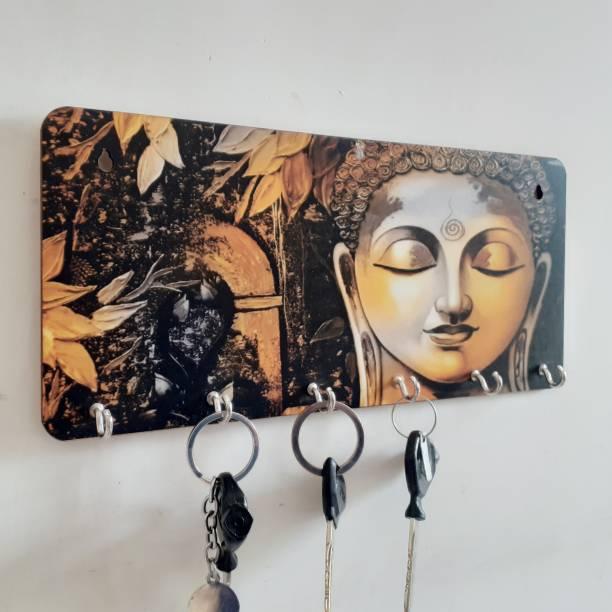 Khatu Crafts Wood Key Holder
