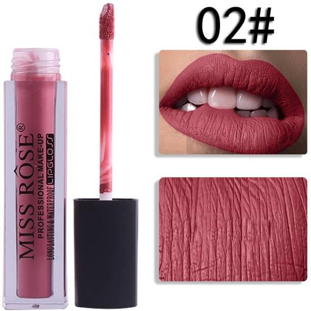 MISS ROSE Matte Lip Gloss - 02