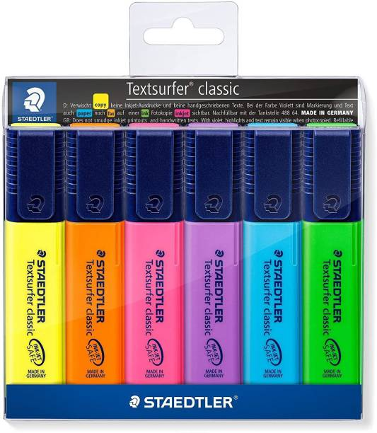 STAEDTLER Classic Highlighter 364 WP6