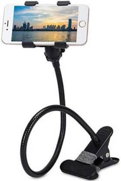 XGMO Metal Lazy Stand Bracket Mobile Phone Stand | Flexible | Portable - Foldable | 360 Degree | Gooseneck Long Arm Clip Mobile Holder