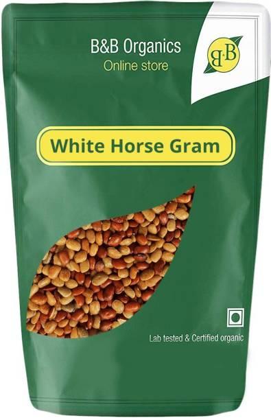 B&B Organics Organic White Horse Gram (Whole)