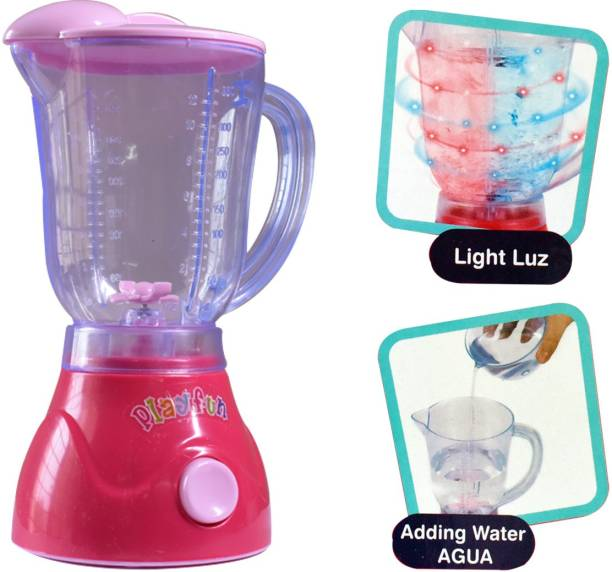 Toy Shack Constructive Playthings Appliances Toy Blender for Toy Kitchens with Realistic Sounds and Lights Toy for Kids