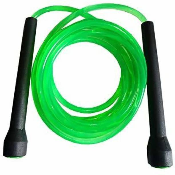 Manogyam WEIGHT LOSS PROGRAM Men & Women - With thin handle Speed Skipping Rope Freestyle Skipping Rope