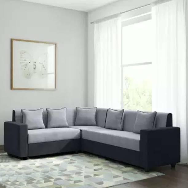 CasaStyle CasaLiving Corner L Shape Fabric 6 Seater  Sofa