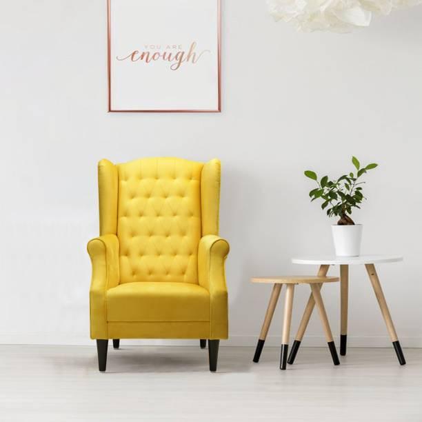 Flipkart Perfect Homes Beleza sofa sectional Fabric 1 Seater  Sofa