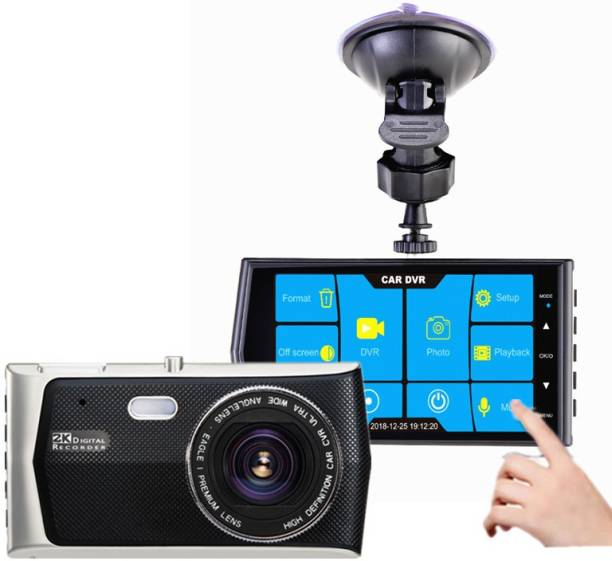 Jteck Touch Screen Car Video Recorder E08 Vehicle Camera System