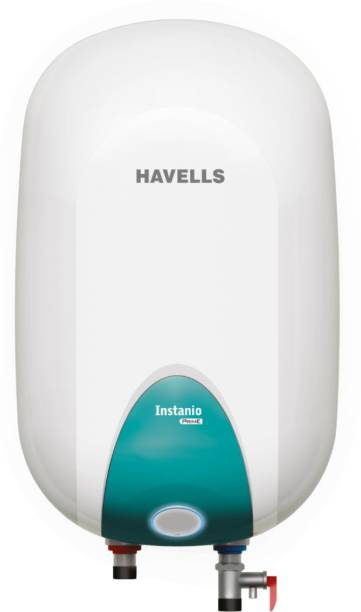 HAVELLS 15 L Storage Water Geyser (Instanio Prime, White & Blue)
