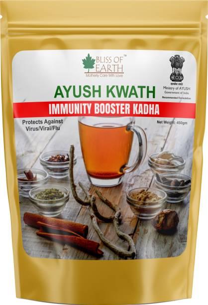 Bliss of Earth 450gm Ayush Kwath Powder For Immunity Booster, Ayush Kadha