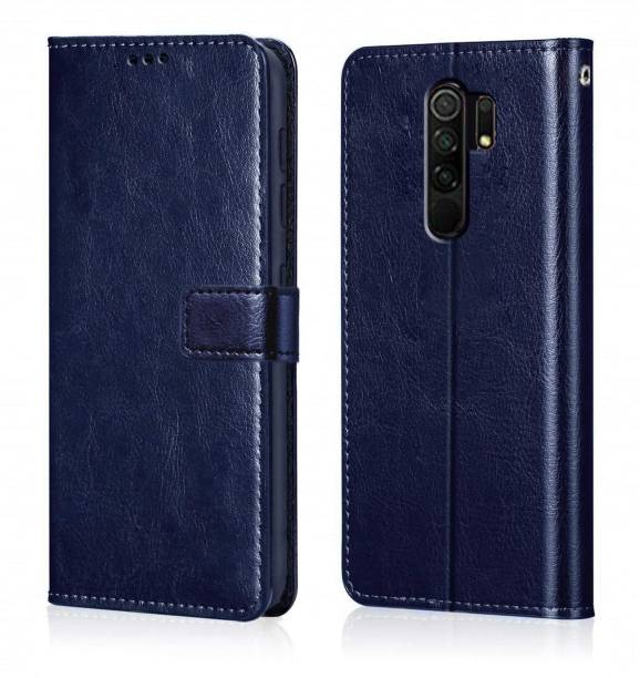Micvir Flip Cover for Poco M2, Mi Redmi 9 Prime