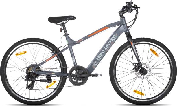 Hero Lectro Clix 26T 7S 26 inches 7 Gear Lithium-ion (Li-ion) Electric Cycle