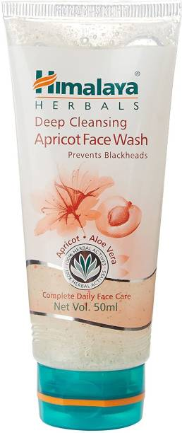 HIMALAYA Since 1930 Deep Cleansing Apricot  50ml Pack of 2 Face Wash