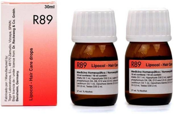 Dr Reckeweg Germany R-89 HAIR CARE DROPS(PACK OF 3) Hair Oil