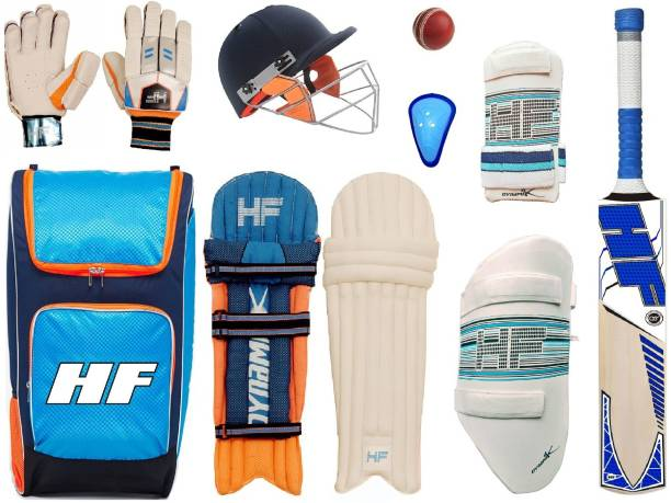 HF DYNAMIK Youth Size Cricket Set of 6 No ( Ideal For 11-14 Years ) Complete Cricket Kit