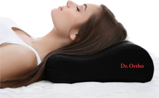 Dr Ortho Memory Foam Solid Orthopaedic Pillow Pack of 1