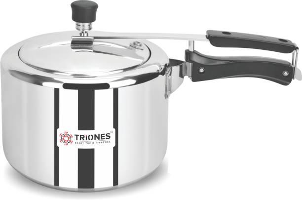 Triones Innerlid Pressure Cooker Induction Base 3 L Induction Bottom Pressure Cooker