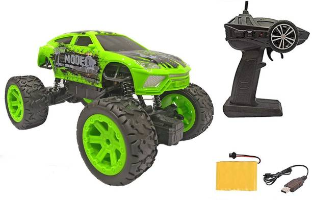 Toyshack 1:20 Off Roader Rock Climbing Rechargeable Truck with Remote Control Toy for Kids   Drive on Sandy, Rocky, Grassland