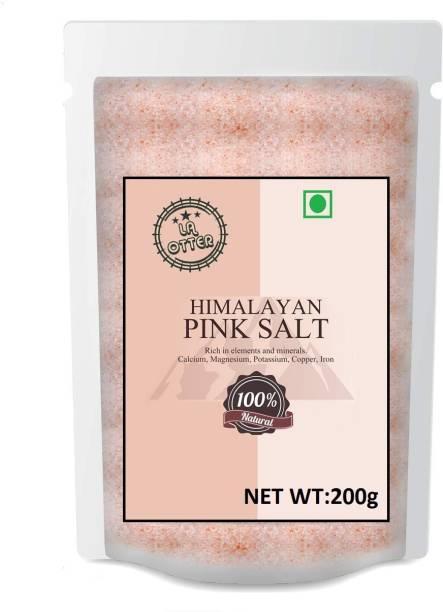 LA OTTER Himalayan Pink Salt Fine Himalayan Pink Salt