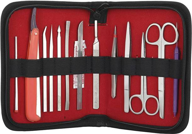 Forgesy surgicals Dissection Set for Medical Students Utility Forceps