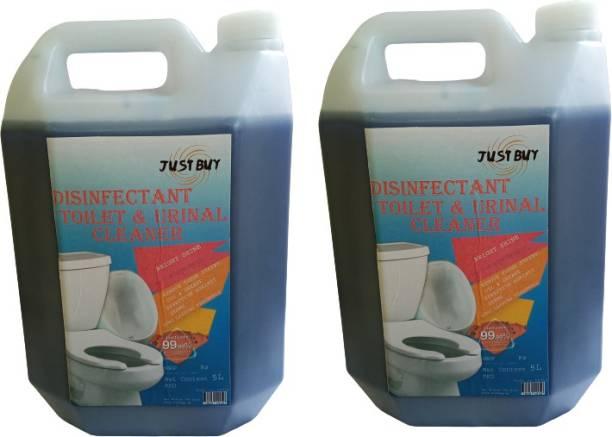 JUST BUY Toilet Bowl Cleaner Gel Toilet Cleaner 5L (pack of 2 ) Regular Liquid Toilet Cleaner