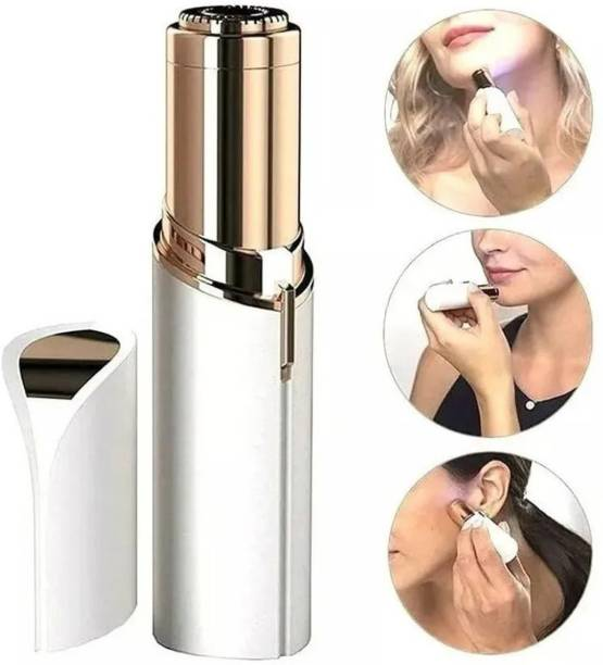 I view Painless Face Hair Remover Upper Lip, Chin, Eyebrow Trimmer Shaver Machine for Women  Runtime: 60 min Trimmer for Women