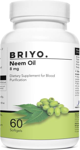 BRIYOSIS Neem Oil- Dietray supplement for Blood Purification