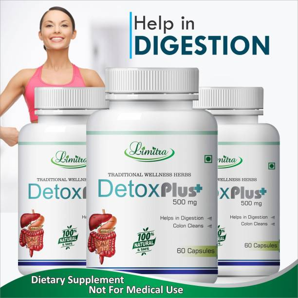 Limitra Detox Plus Helps in Colon Clean & Digestion 100% Natural