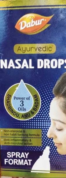 Dabur Ayurvedic NASAL DROPS PACK OF 3