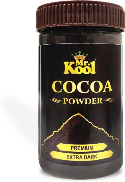 Mr.Kool Cocoa Powder Extra Dark Milkshake and Unsweetened Cocoa Powder100gm Cocoa Powder