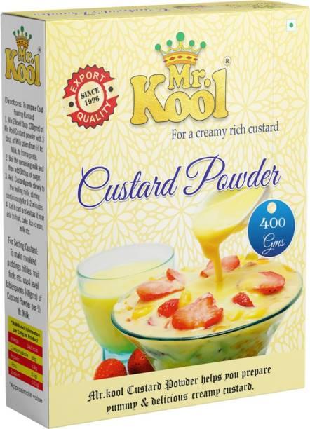 Mr.Kool Premium Quality Vanilla Instant Custard Powder 400g Custard Powder
