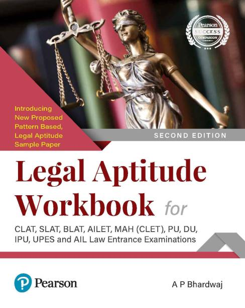 Legal Aptitude Workbook For clat and other law examinations Second Edition By Pearson