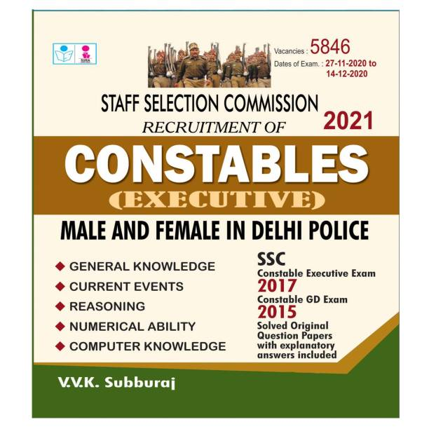 SSC Constables (Executive) Male and Female In Delhi Police Exam Book
