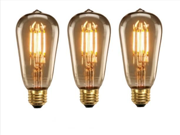 Hybrix 4 W Decorative E27 LED Bulb