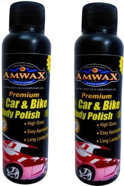 amwax Liquid Car Polish for Metal Parts, Exterior, Exterior