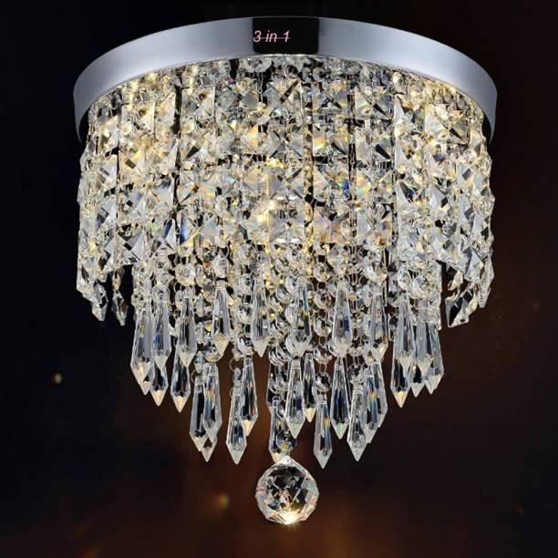Crysta World round 97 Chandelier Ceiling Lamp
