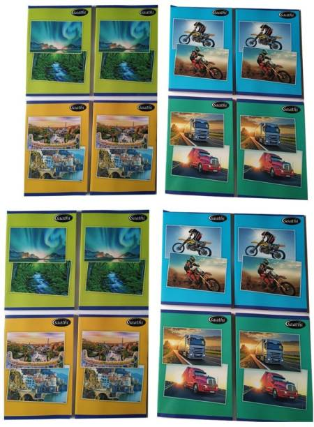 Classmate 8 A4 Notebook SINGLE LINE 224 Pages