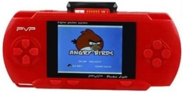 Clubics PVP Pocket Gaming Console for Kids (RED) 1 GB with SUPER MARIO