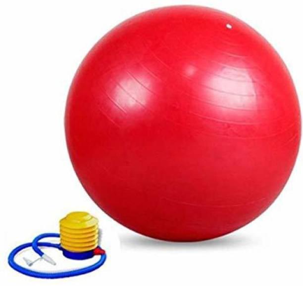 IRIS Fitness Anti-burst 55 cm Red Gym Ball