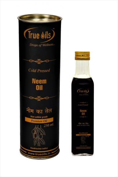 True Oils Neem Oil (250 ml) Hair Oil