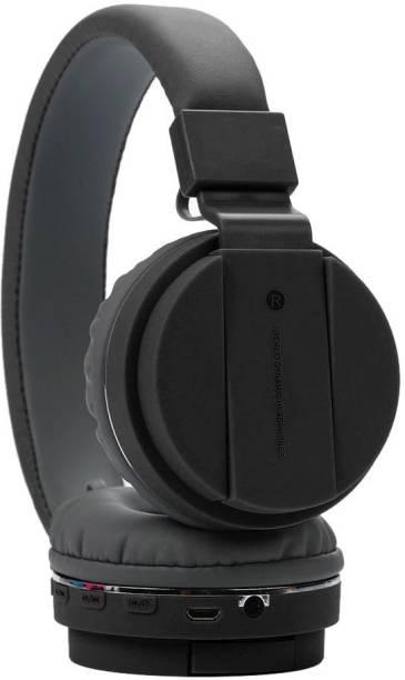 Allmusic Stereo Sound Rich Bass Headphone with FM & SD Card Slot Bluetooth Headset