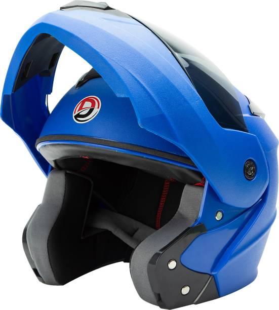 GTB HELMET FLIP UP HELMET-BLUE Motorbike Helmet