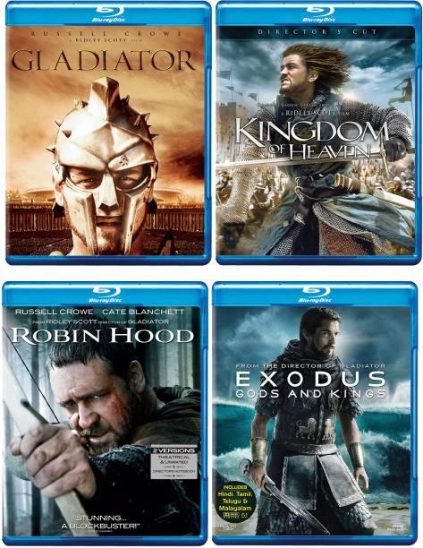 Gladiator, Kingdom of Heaven, Robin Hood, Exodus