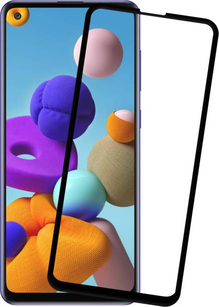 Karpine Edge To Edge Tempered Glass for Samsung Galaxy A21s