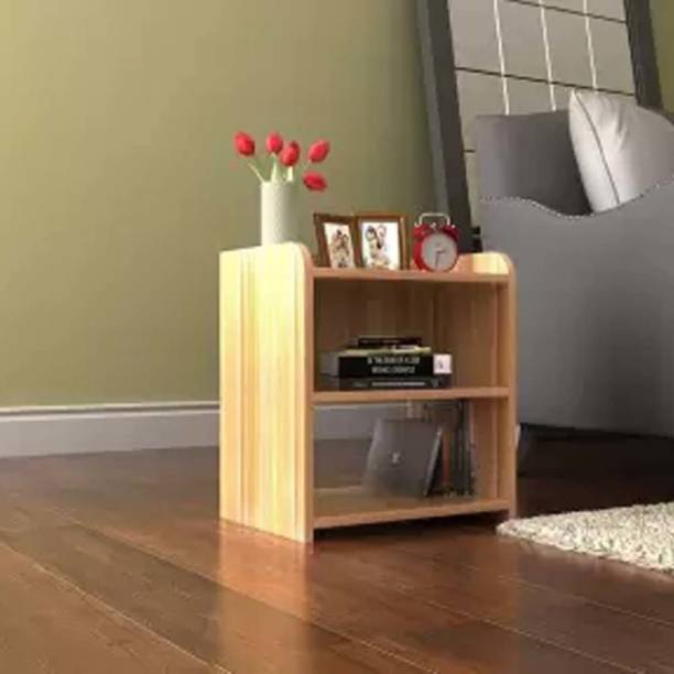 INDIAN DECOR SZY Wooden Bedside Table Engineered Wood Bedside Table