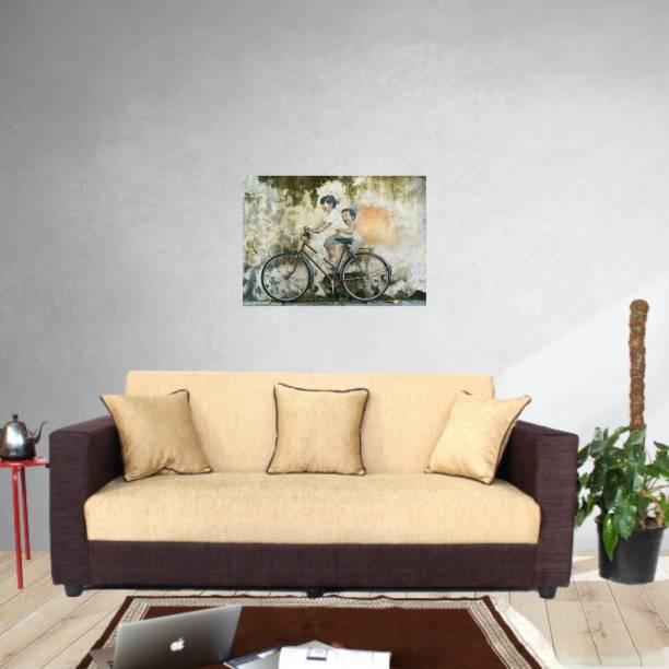 WESTIDO Luis Fabric 3 Seater  Sofa