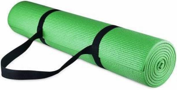 GROVERTEXOFAB ANTI-SKID LIGHT WEIGHT GREEN WITH STRAP 5 mm Yoga Mat