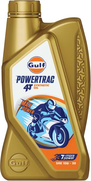 Gulf POWERTRAC 4T 10W-30 - [900 ML] Powertrac 4T Full-Synthetic Engine Oil