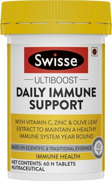 Swisse Immune Support (Vitamin C, Zinc & Olive leaf) for healthy immune system