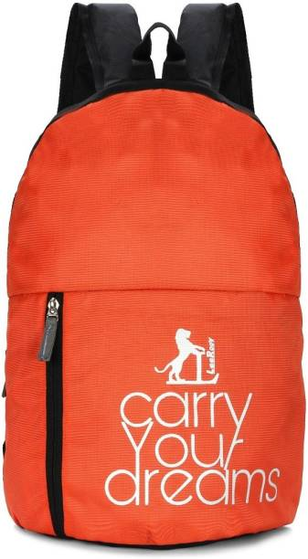 LeeRooy Carry Your dreams 35 liter BG - 28 Orange new design motivational backpack use for gym,school,college ,casuals 35 L Backpack