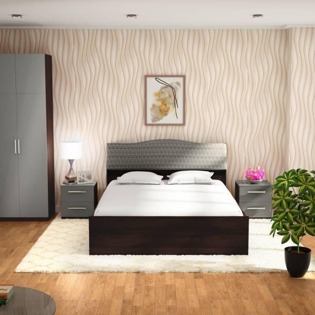 Godrej Interio Sierra Engineered Wood Queen Box Bed