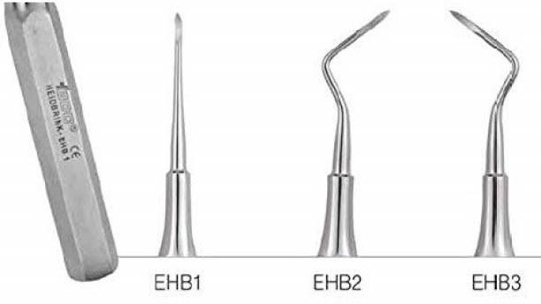 Forgesy Root Elevators Root Tip Pick, Set of 3 pc Dental Elevator